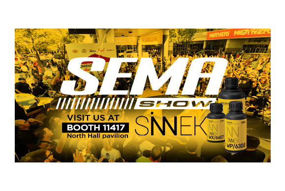 SINNEK WILL BE PRESENT AT SEMA SHOW 2018