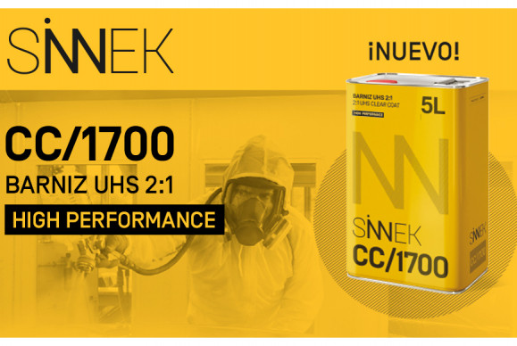 SINNEK PRESENTS CC/1700, ITS NEW HIGH-PERFORMANCE UHS VARNISH