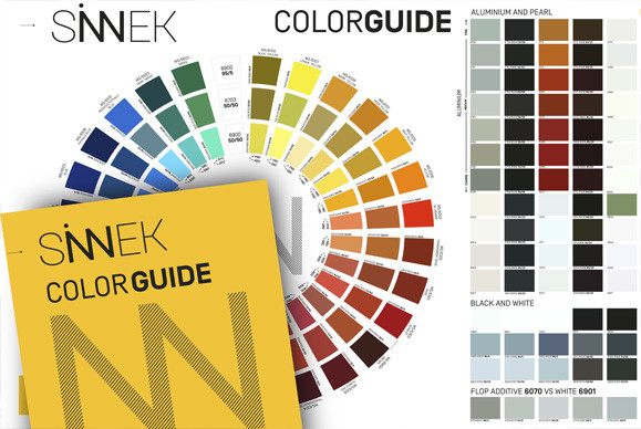 SINNEK CHROMATIC COLOR GUIDE, LE NOUVEL OUTIL DE SINNEK QUI PERMET D'OPTIMISER LA COLORIMÉTRIE DANS L'ATELIER