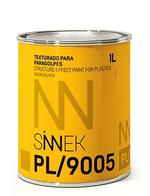 Structure Effect Paint for plastics Sinnek